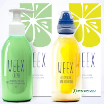 купить Weex напиток+крем